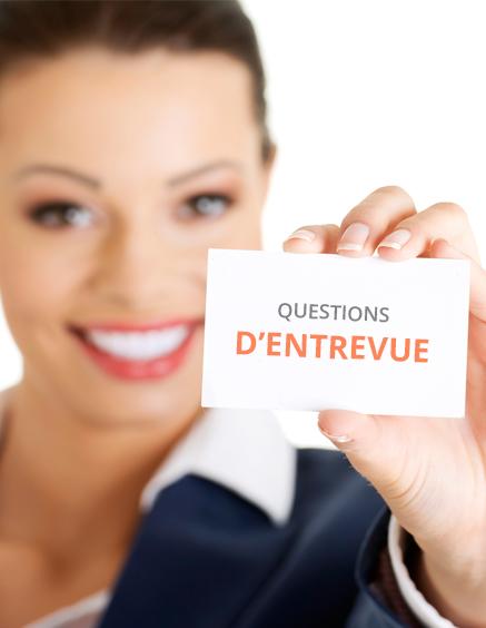 50 questions d'entrevue